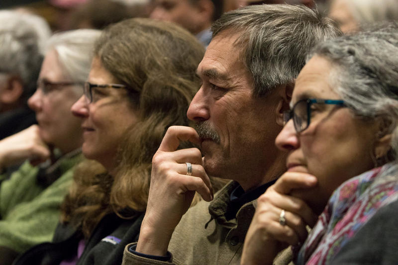 More than 800 people attended the Democrat's candidate forum in Missoula Thursday night, Feb. 8, 2018.