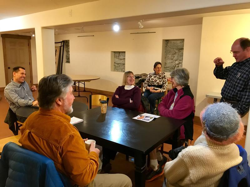 Over coffee in Kalispell on Thursday, March 8, 2018, Grant Kier said he supported investing in preventive measures, like increasing access to mental health care to prevent school shootings and suicides.