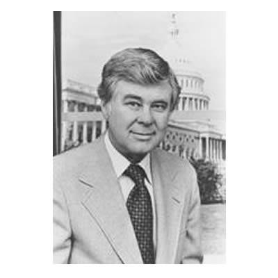 Former Montana senator and U.S. Representative John Melcher. Melcher died at age 93 on April 12, 2018.