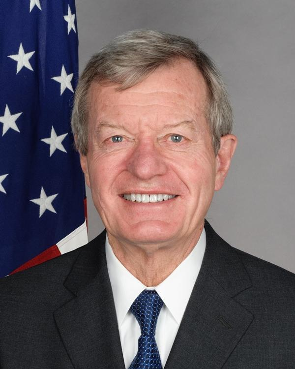 Former Montana U.S. Senator and former U.S. Ambassador to China Max Baucus