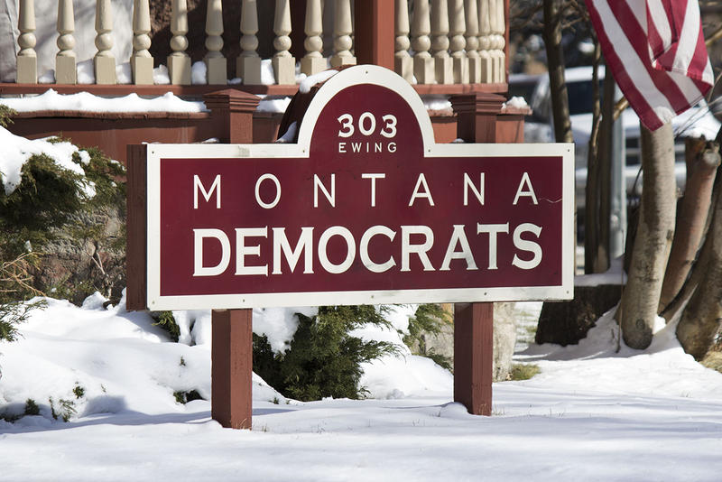 Montana Democratic Party headquarters in Helena, MT.