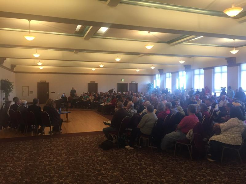 Roughly 300 people attended an event Saturday Night in Great Falls organized by Great Falls Area Concerned Citizens opposing the proposed Madison Food Park