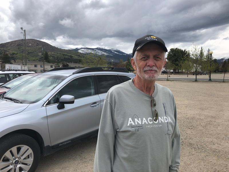 Tom Laughlin of Anaconda, MT says he has an autoimmune disease and he's concerned about the health impacts of the old copper smelter in town.  He met with officials with the Centers for Disease Control and Prevention during a public health listening sessi