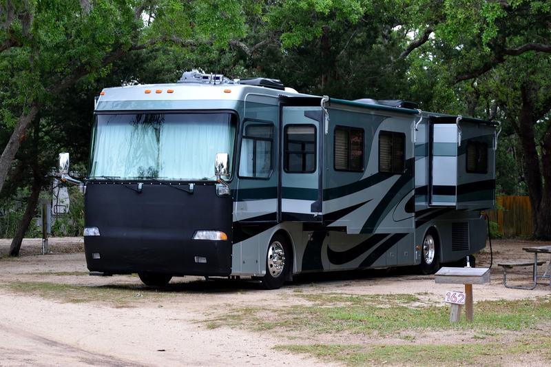RV campsite. (File photo)