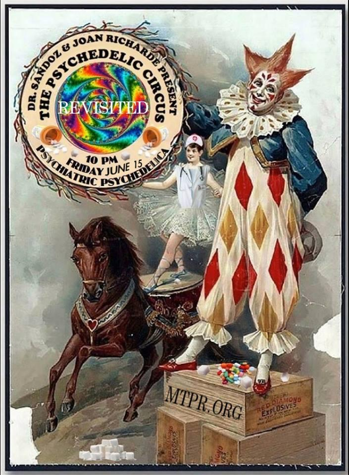 Tune in to The Psychedelic Circus Friday, June 15 at 10 p.m. on Montana Public Radio.