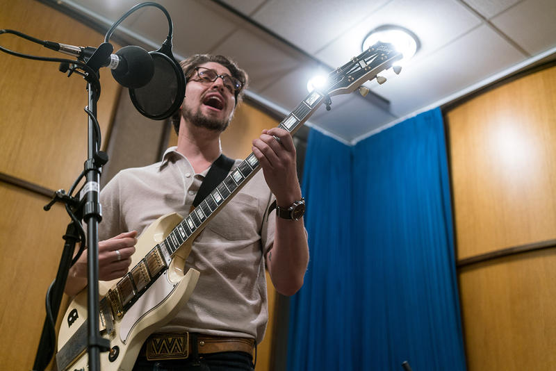Honey Honey guitarist Ben Jaffe live on MTPR, July 17, 2018.