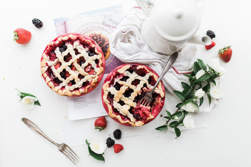 Cherry Pie Photo By Brooke Lark on Unsplash