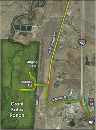 A portion of the area north and west of Deer Lodge where Montana's DEQ plans to start work this fall