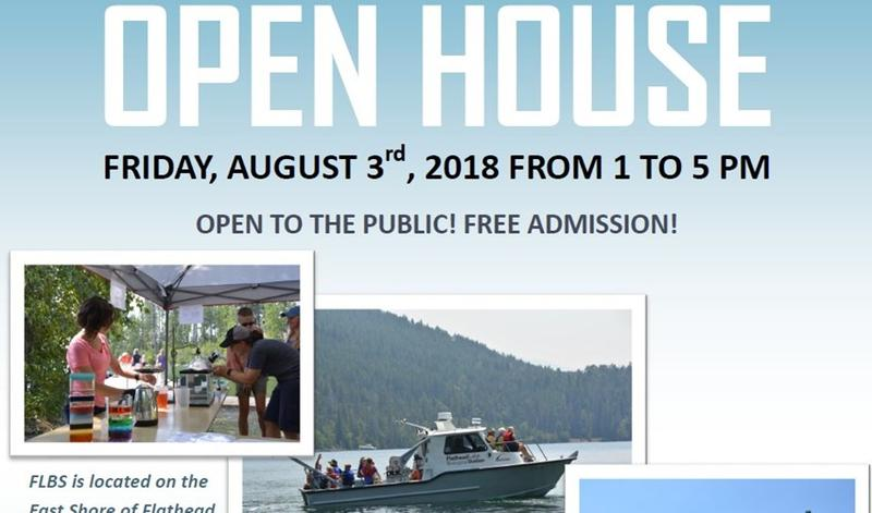 The Flathead Lake Biological Station held it's 2018 open house on August 3.