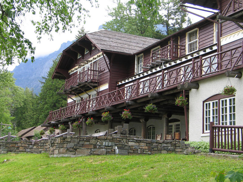 Glacier National Park's Lake McDonald Lodge.