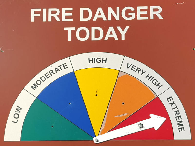 "Fire Danger moved to ""Extreme"" in much of western Montana this week."