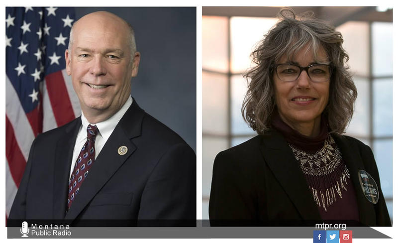 Montana U.S. House candidates Greg Gianforte and Kathleen Williams.