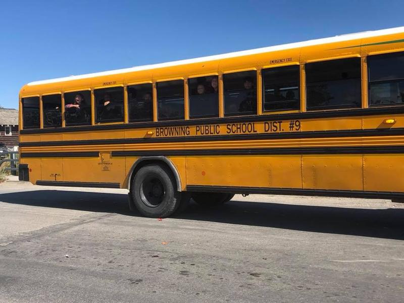 Browning Public School bus.