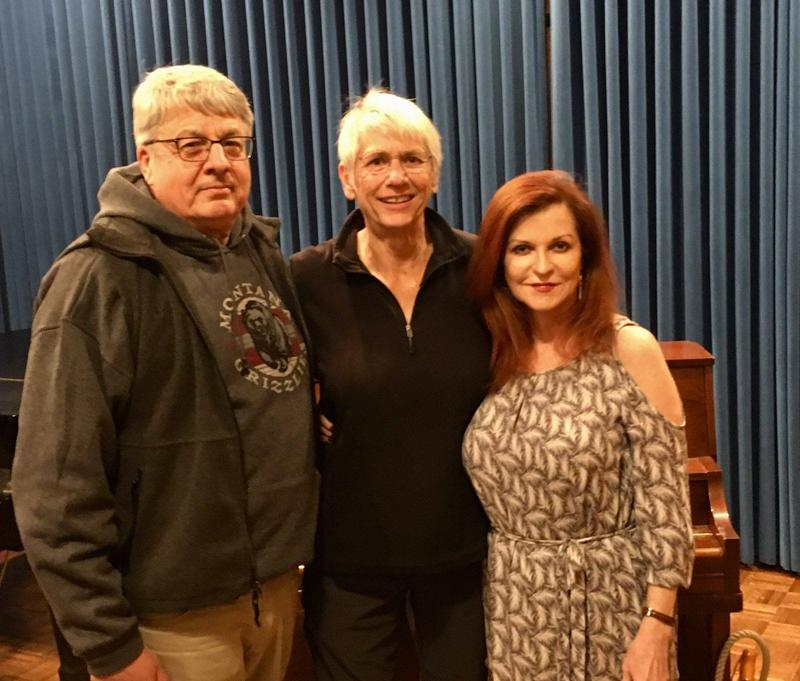 New York Times Chief Washington Correspondent Carl Hulse, MTPR journalist Sally Mauk and Pulitzer-Prize-winning New York Times columnist Maureen Dowd at the University of Montana.