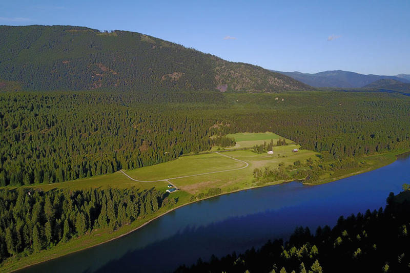The Vital Ground Foundation and the Yellowstone to Yukon Conservation Initiative purchased this undeveloped subdivision near Troy, Montana as part of the Wild River Project.