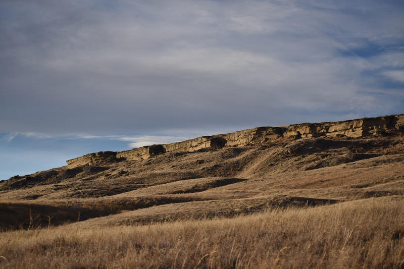 First People's Buffalo Jump State Park.
