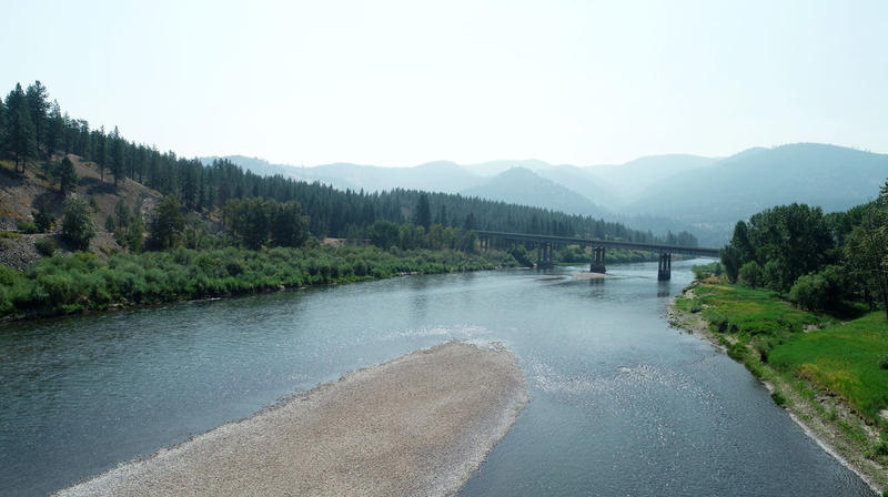 Vital Ground and Yellowstone to Yukon's land purchase protects 52 acres abutting the Clark Fork River and an Interstate 90 bridge, safeguarding wildlife movement under the highway and between the Ninemile and Bitterroot mountains.