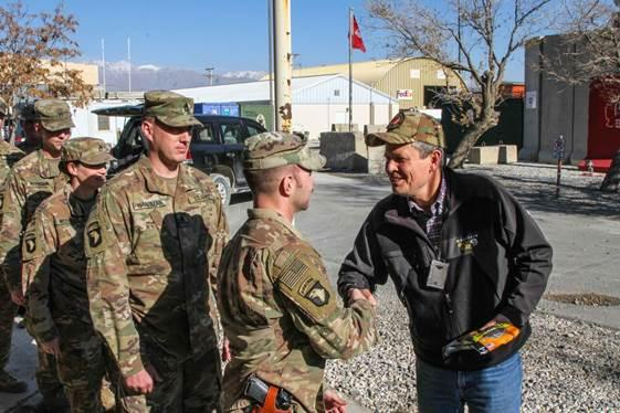 Sen. Daines bringing Hi-Country beef jerky to Montana's 495th CSSB.