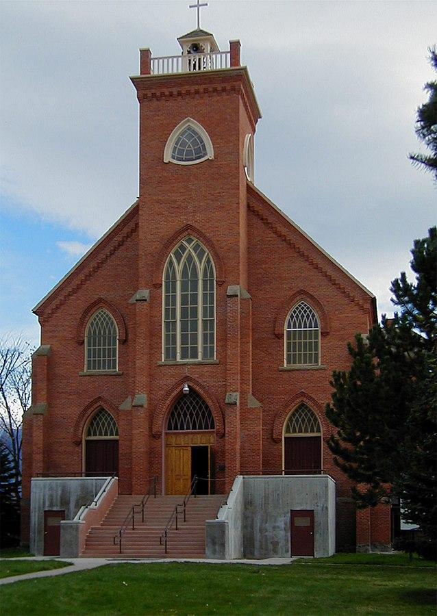 St. Ignatius Mission in St. Ignatius Montana.