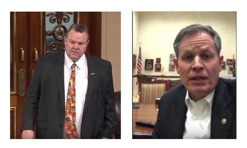 Sen. Jon Tester and Sen. Steve Daines this week spoke out about the border wall and the government shutdown.