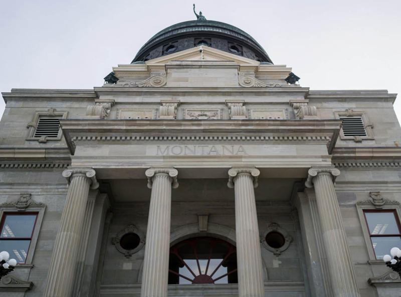Montana Capitol building.