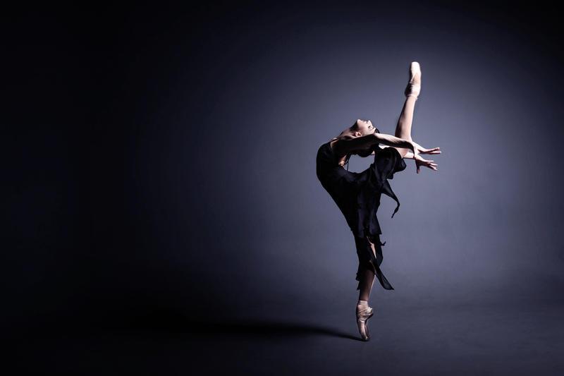 Ballet dancer. Stock photo.