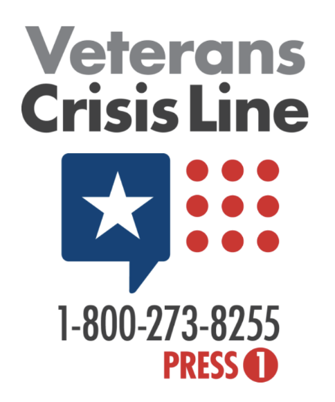 Veterans suicide prevention hotline.