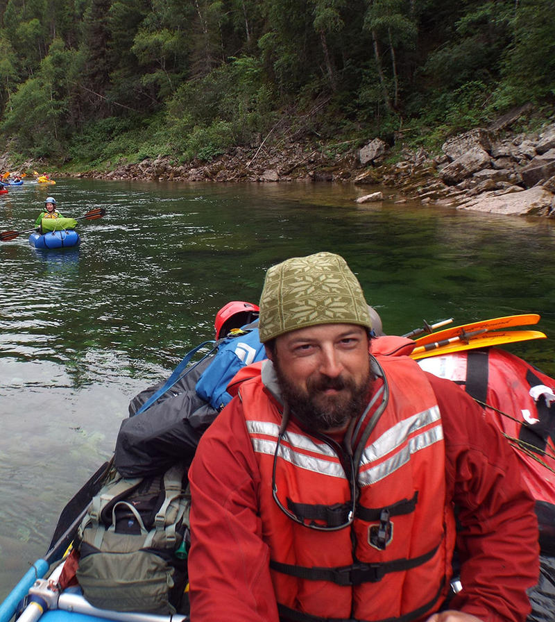 Andrew Larson is the new director of the University of Montana's Wilderness Institute.