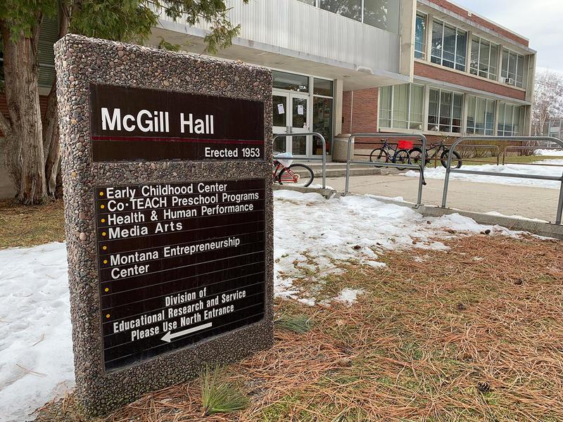 McGill Hall at the University of Montana.