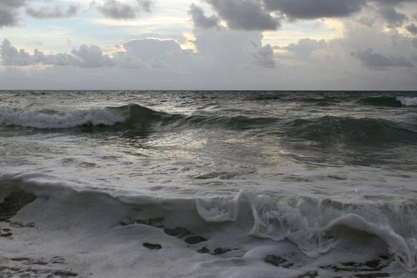 Waves in Fort Lauderdale, Florida