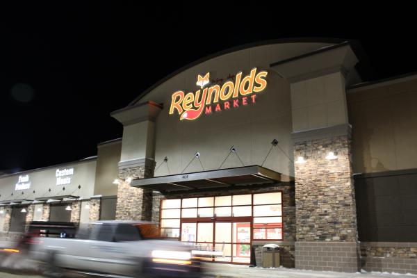 Reynold's Market, operating in Sidney since 1925, just moved to a new location twice the size of the old store.
