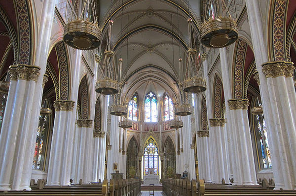 Inside the Helena Cathedral. The Roman Catholic Diocese of Helena is filing for bankruptcy protection in the wake of child sex-abuse claims.