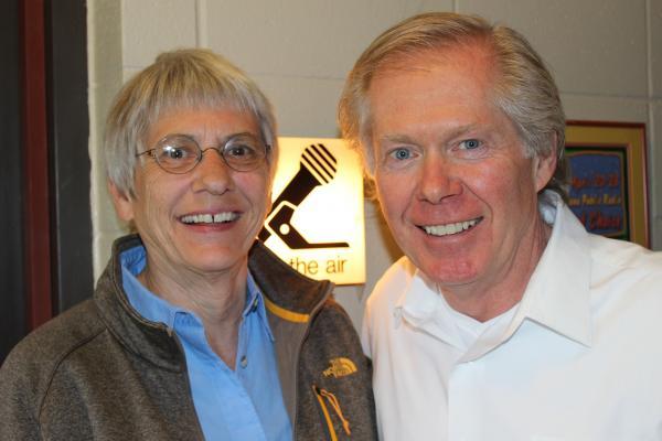 Sally Mauk and William Marcus