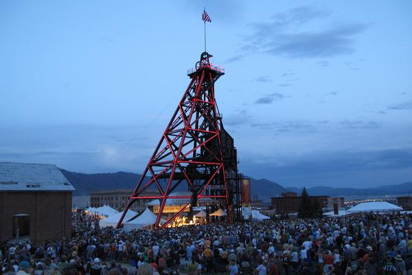 The Original Stage, Montana Folk Festival, Uptown Butte, July 11 - 13, 2014. Admission to all events is free. (CC-BY-NC)
