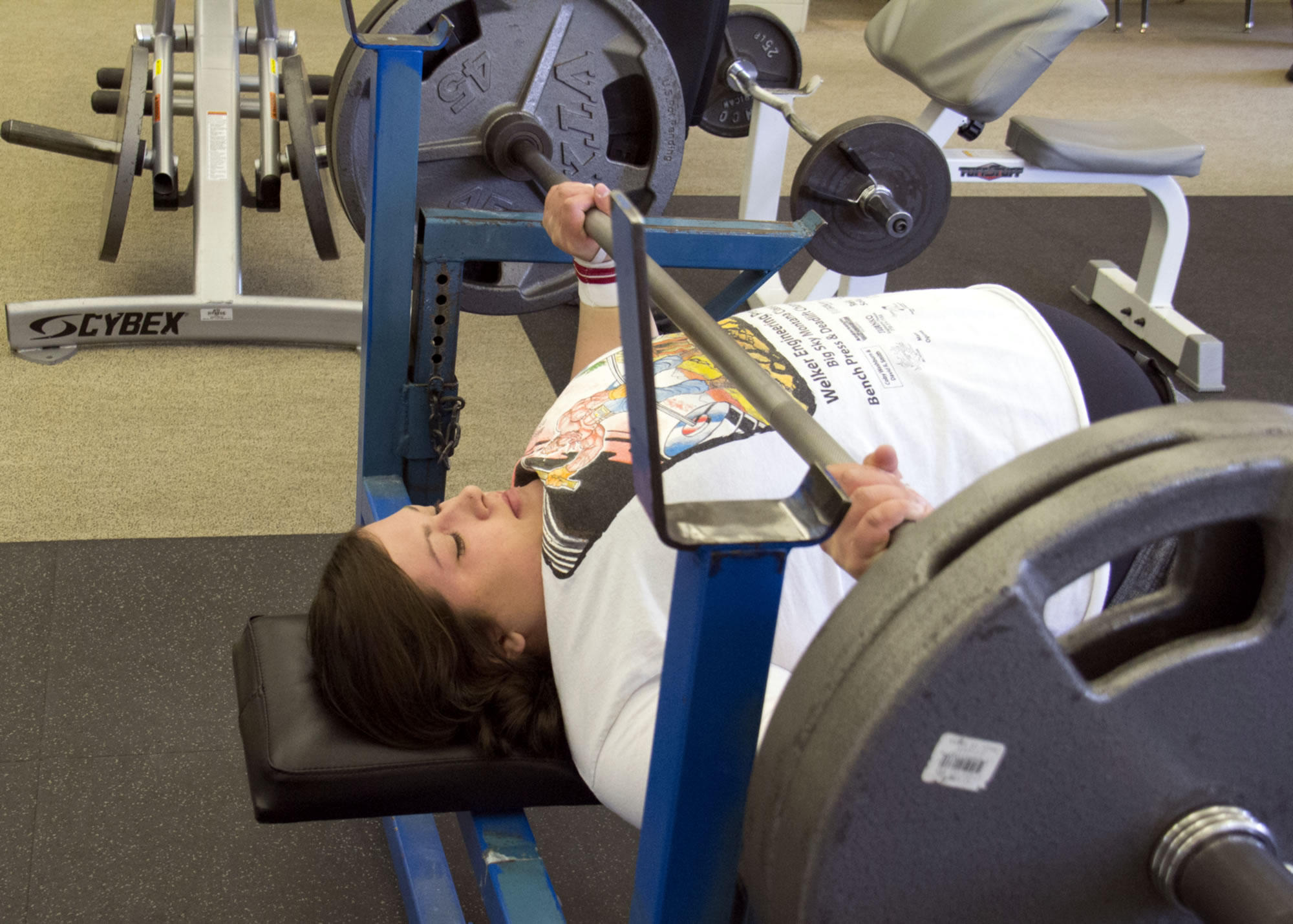 Record Bench Part - 21: Arlee Woman Breaks World Bench Press Record, And Sheu0027s Not Done Yet