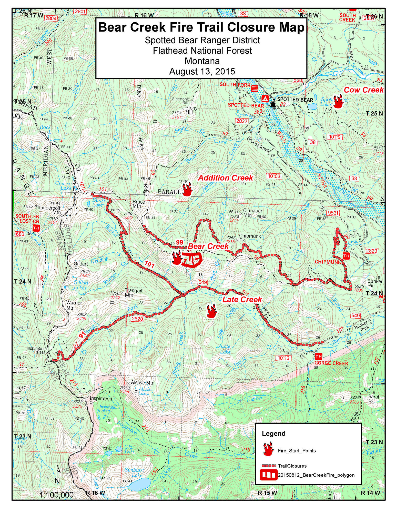 Montana Wildfire Roundup For August 17 2015 Mtpr