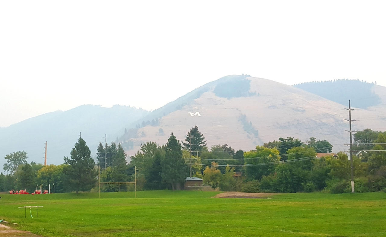Missoula Among Worst In US For ShortTerm Particulate Pollution - Us how many counties