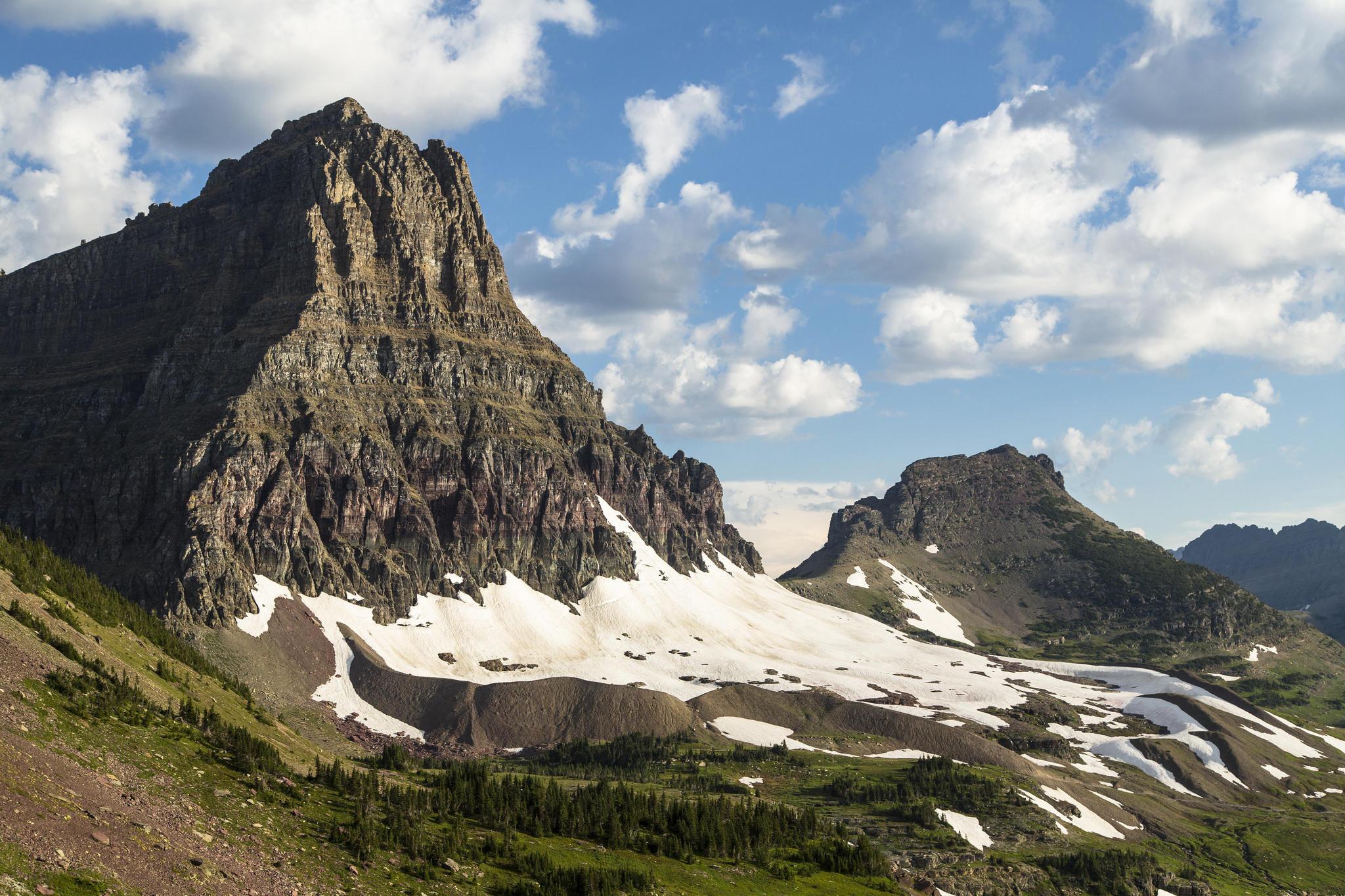 46899a4a493 Fall construction season has begun in Glacier National Park.