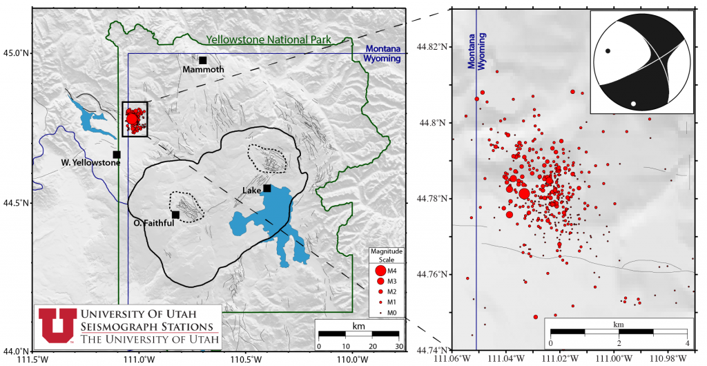 Yellowstone Earthquake Swarm No Cause For Alarm Researcher Says Mtpr