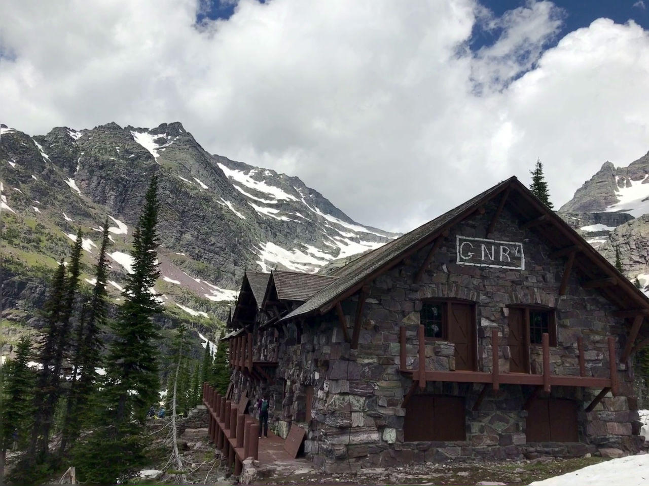 Sperry Chalet burns in Glacier National Park wildfire