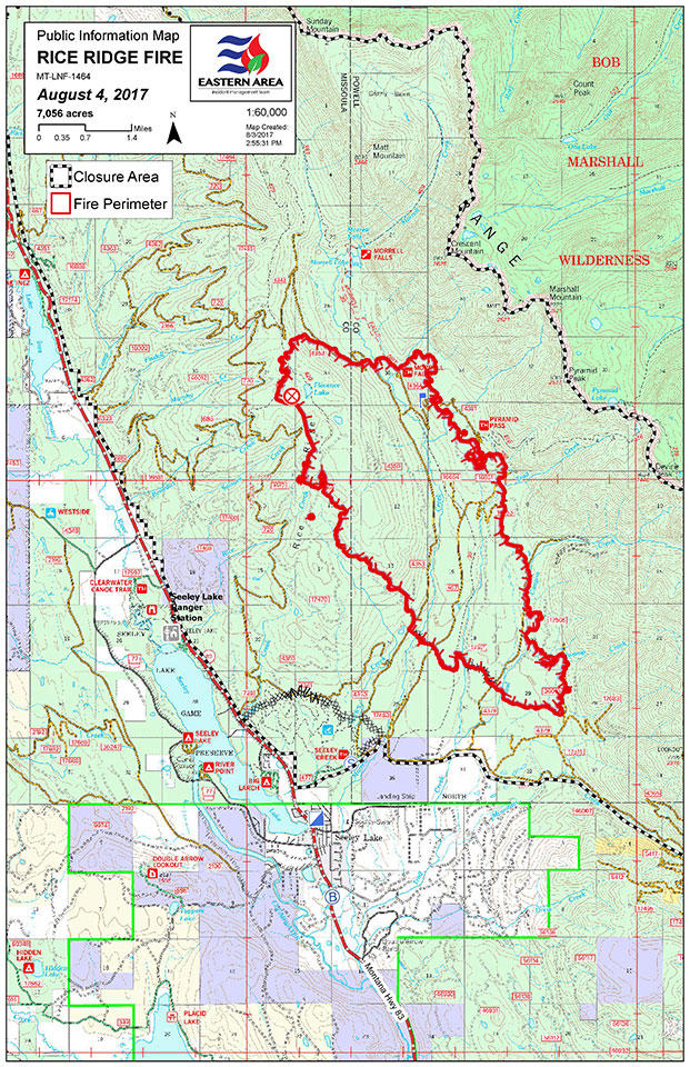 Montana Wildfire Roundup For August 4 2017 Mtpr