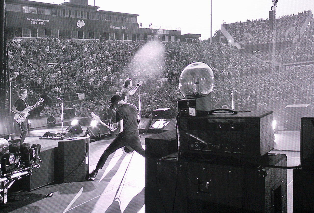 Pearl Jam plays Washington Grizzly Stadium in Missoula MT