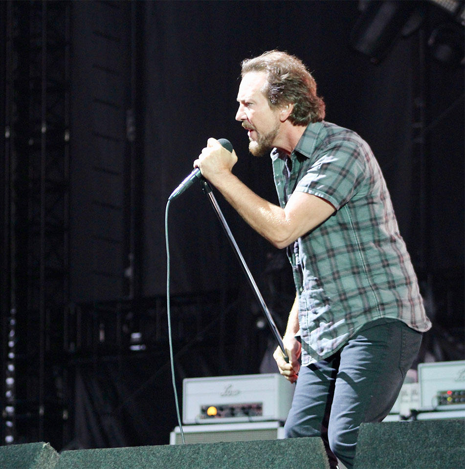 Republicans blast Pearl Jam poster of burning White House, skeleton