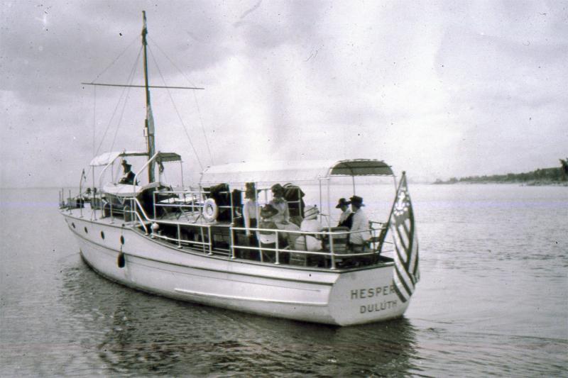 The Congdon Yacht: The Hesperia