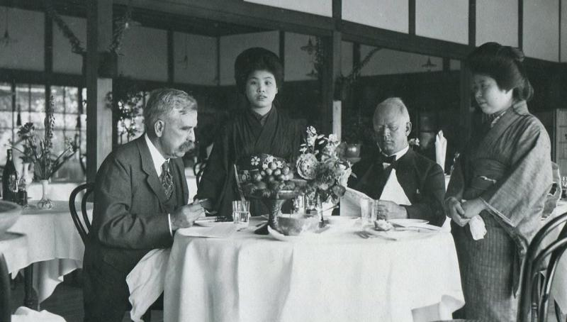 At the Miyuka Hotel, Chester on the Left