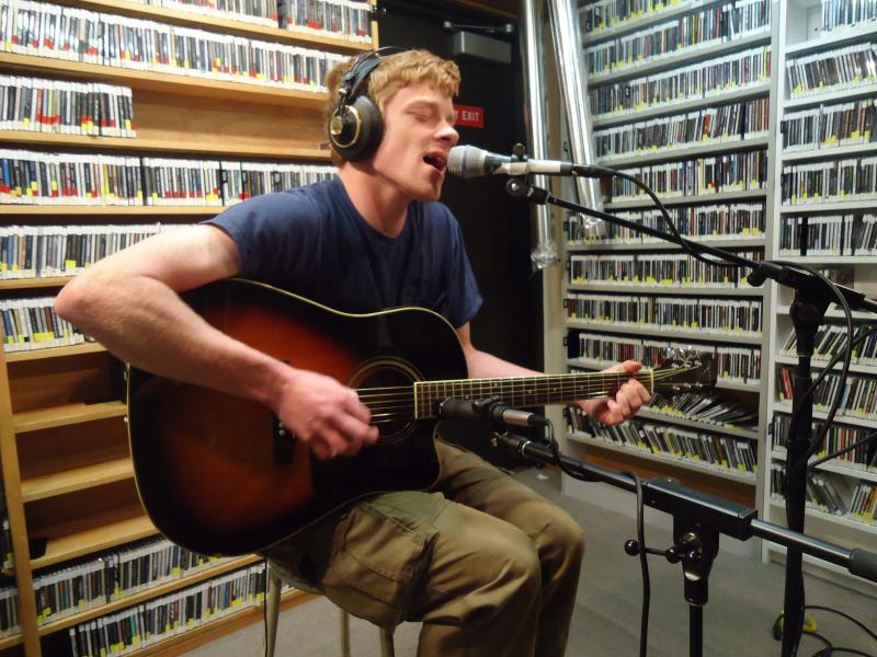 Rick McLean playing at Live from Studio A