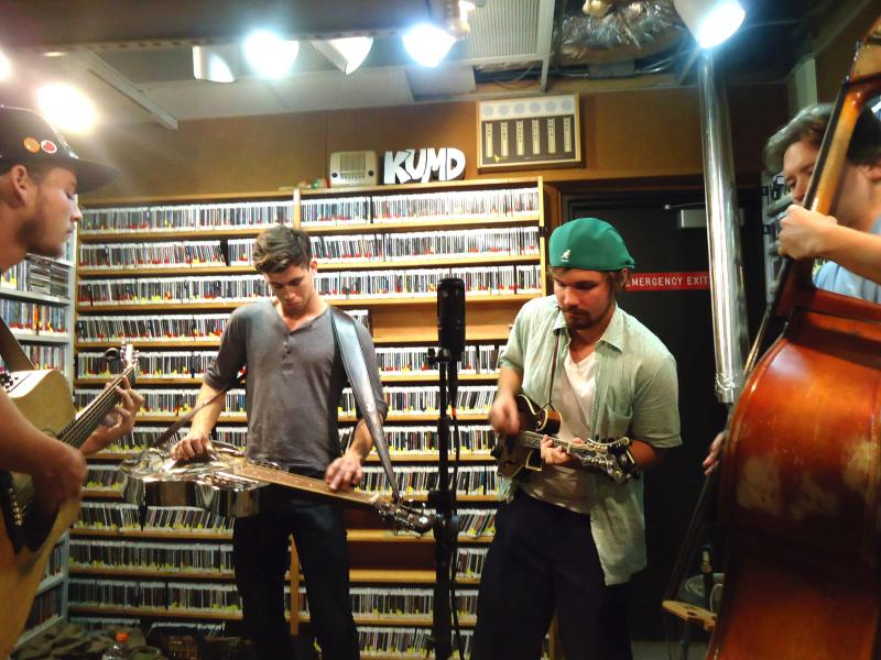 Ginstrings playing on Live from Studio A