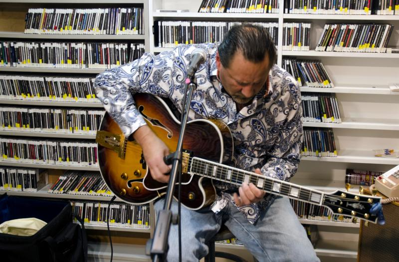 Briand Morrison playing on Live from Studio A