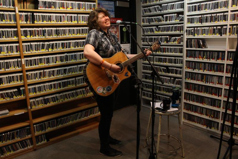 Hannah Rey performing Live from Studio A