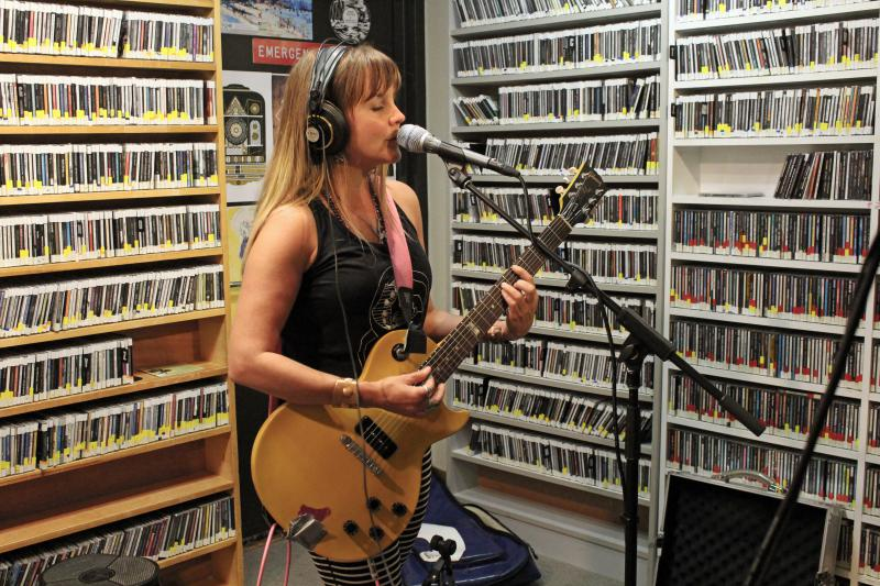 Mary Bue performing live from Studio A